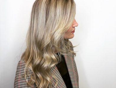 Warm/cool blonde