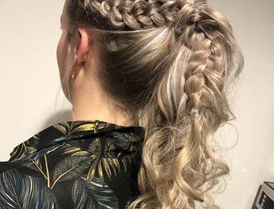Hair up do