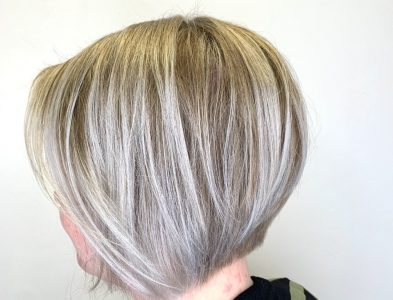 Bobline with highlights