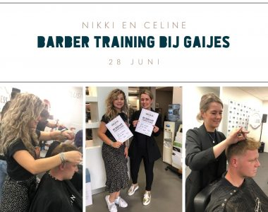 Barber training